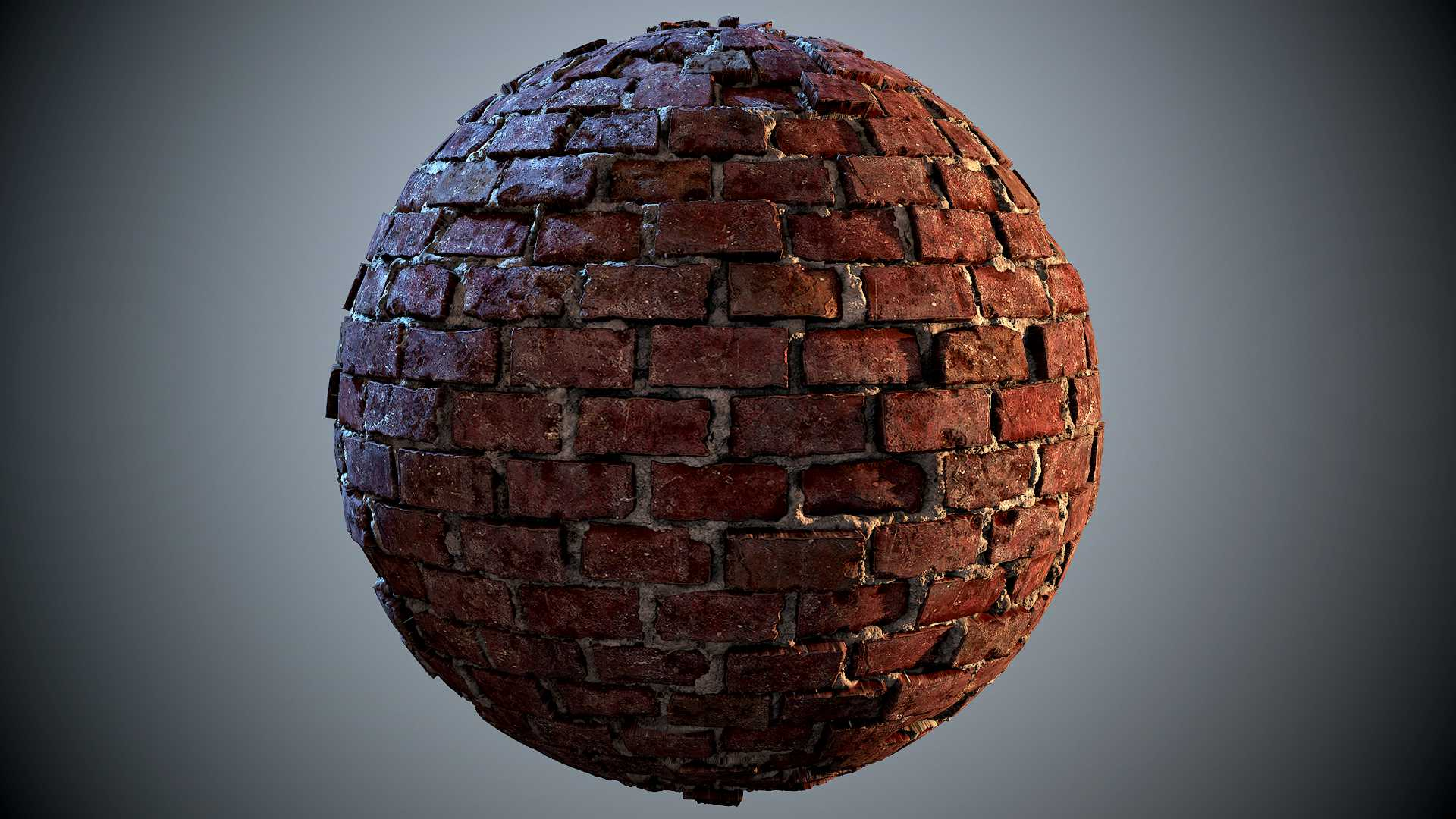 Sculpting A Brick Wall Texture The Classical Way