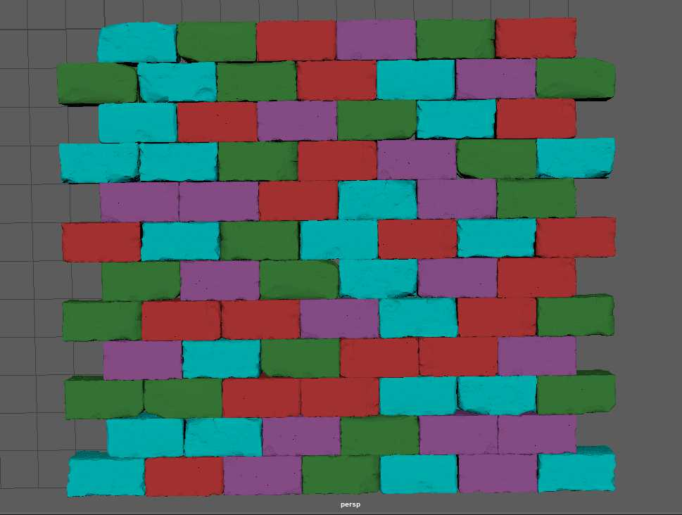 Sculpting A Brick Wall Texture The Classical Way