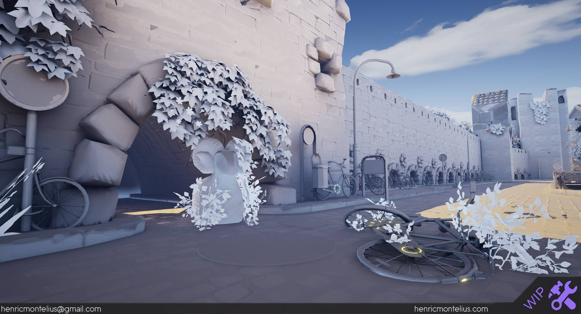 Henric Montelius: Overwatch-style Visuals with UE4