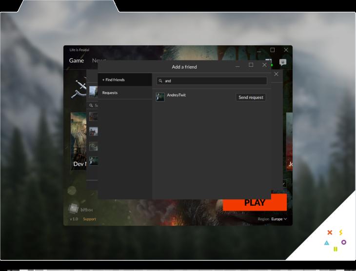 Xsolla Launcher. Screen 3
