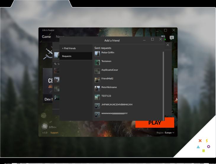 Xsolla Launcher. Screen 4