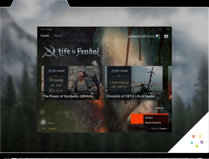 Xsolla Launcher. Screen 5