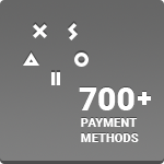 Xsolla Payment Button Grey