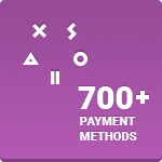 Xsolla Payment Button Purple